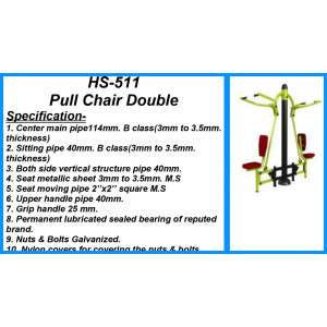 Pull Chair Double